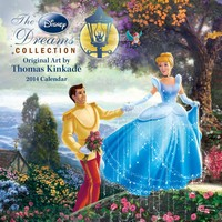 Thomas Kinkade: The Disney Dreams Collection Mini Wall Calendar 2014 9781449437091