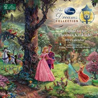 Thomas Kinkade: The Disney Dreams Collection Calendar 2014 9781449435554