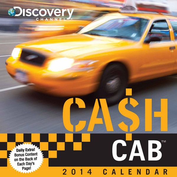 Cash Cab: Trivia Questions from the Discovery Channels Hit Game Show Box Calendar 2014 9781449430719
