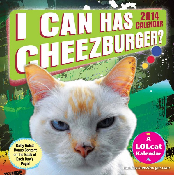 I Can Has Cheezburger? Box Calendar 2014 9781449433086