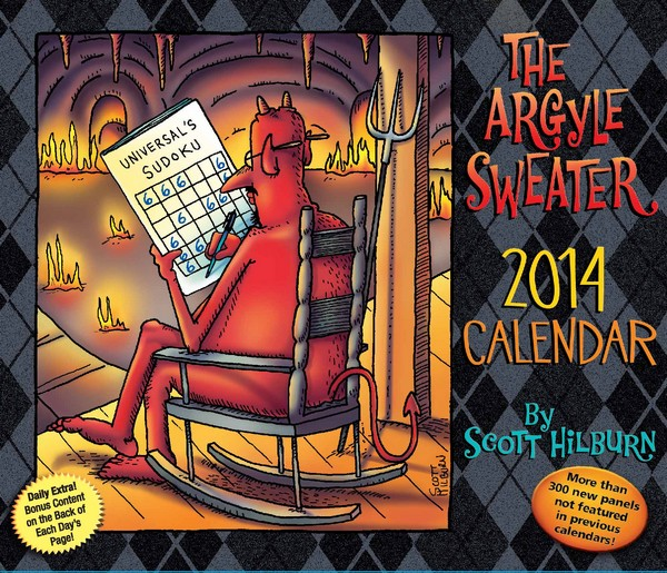 Argyle Sweater Box Calendar, The 2014 9781449429737