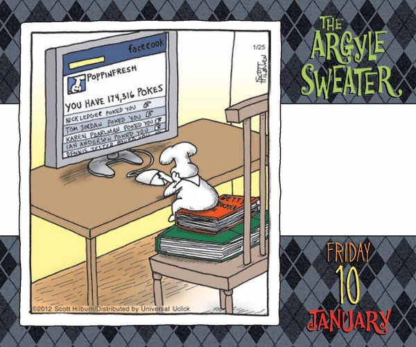 Argyle Sweater Box Calendar, The 2014 inside 9781449429737