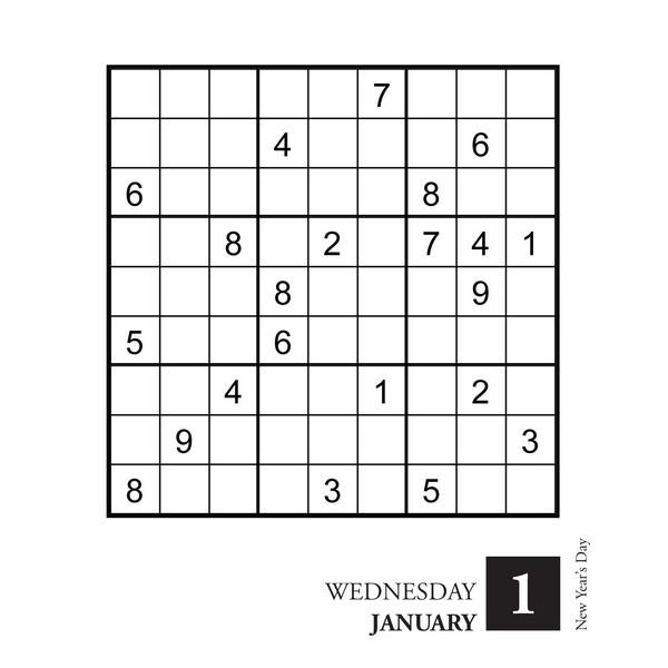 ultimate sudoku box calendar
