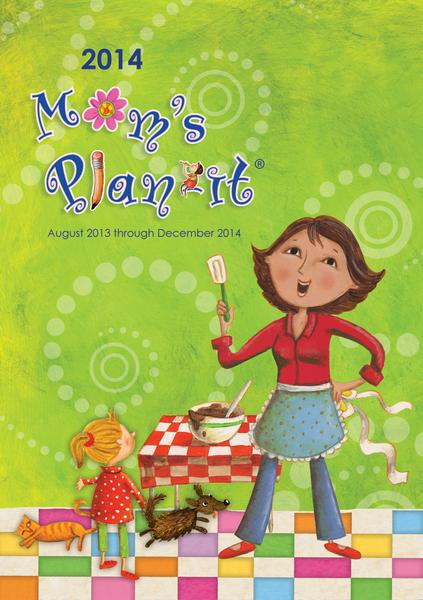 Moms Plan-It Engagement Planner 2014  9781469400990