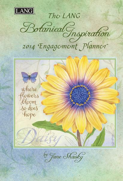 Lang: Botanical Inspirations Weekly Engagement Planner 2014 9780741246509