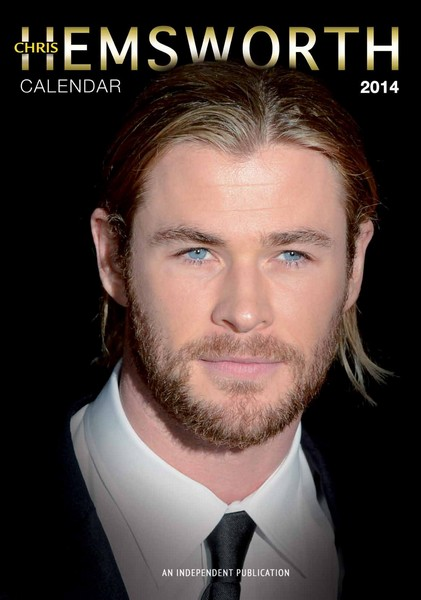 Chris Hemsworth Calendar 2014 5060085404778