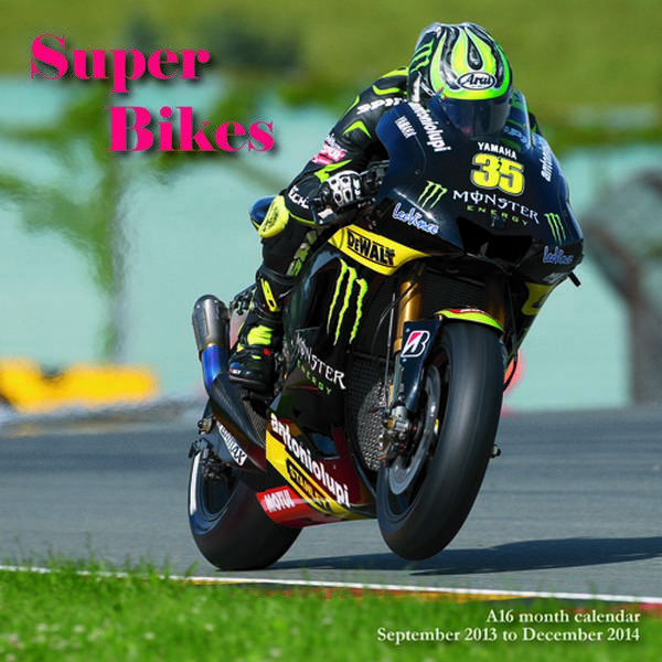 Super Bikes 2014 Wall Calendar Magnum Calendars