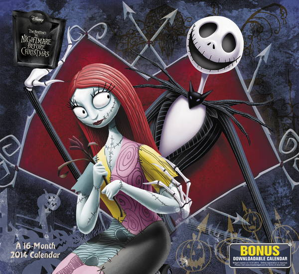 Disney-The Nightmare Before Christmas Calendar 2014 at MegaCalendars ...