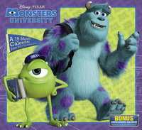 Monsters University Disney Pixar Calendar 2014 9781423822233