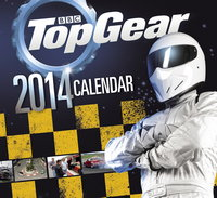 Top Gear 2014 Wall Calendar