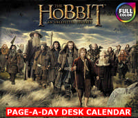 The Hobbit: Desolation of Smaug Page-A-Day Calendar 2014 9781423822776