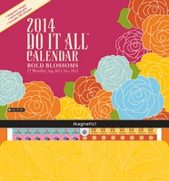 Bold Blossoms Do It All Wall Calendar 2014 9781622260690