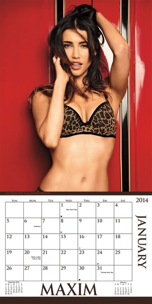 Maxim Mini Calendar 2014 inside 9781438824475