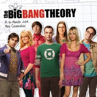 The Big Bang Theory Mini Calendar 2014 9781438827988