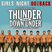 Thunder From Down Under Calendar 2014 9781438826721