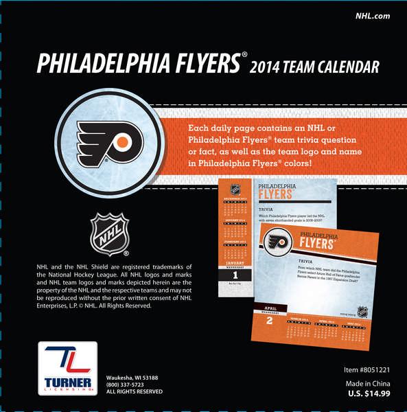 Philadelphia Flyers Players 2014