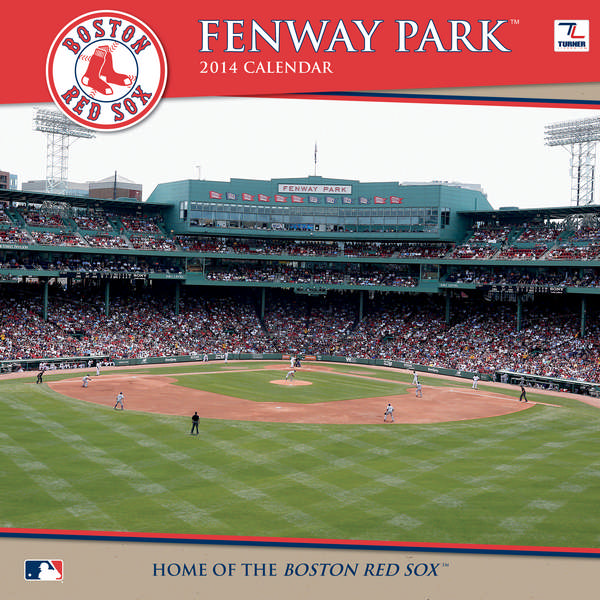 BOSTON RED SOX FENWAY PARK Wall Calendar 2014 9781469310893