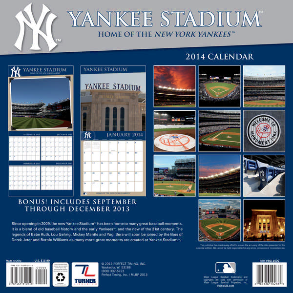 New york yankees stadium wall