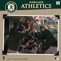 OAKLAND ATHLETICS Wall Calendar 2014 9781469310169