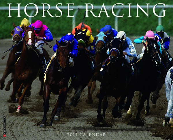 Horse Racing Calendar 2014 at MegaCalendars.com